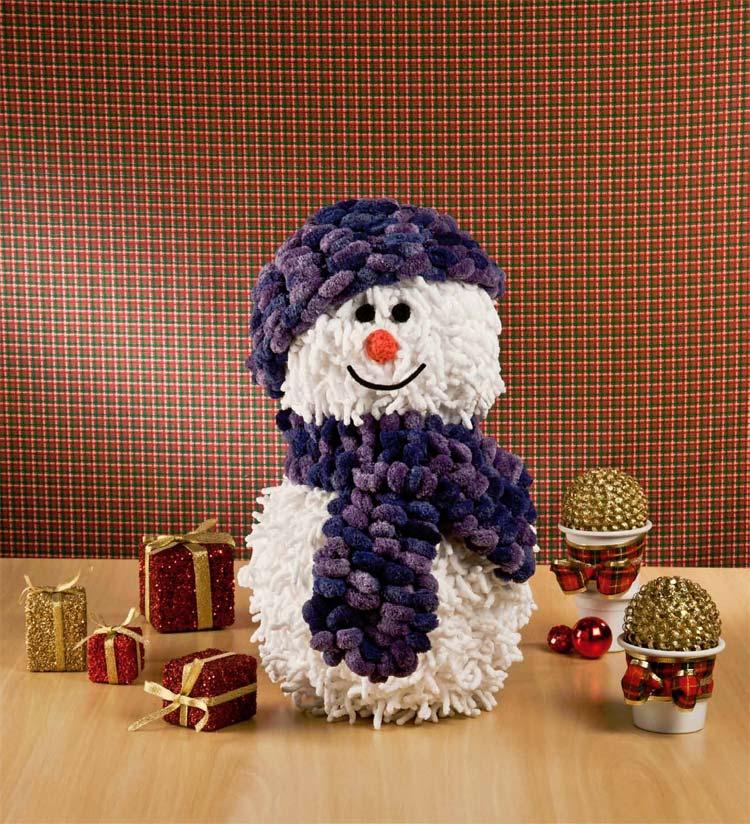 Receita grátis bolinha de Natal em Amigurumi - Boneco de Neve ... | 824x750