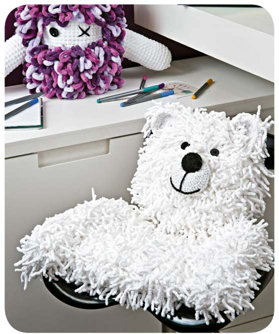 Urso Polar Receita de Amigurumi de Crochê Grátis - Little Bear ... | 668x558