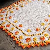 tapete-flores-alaranjadas-mini