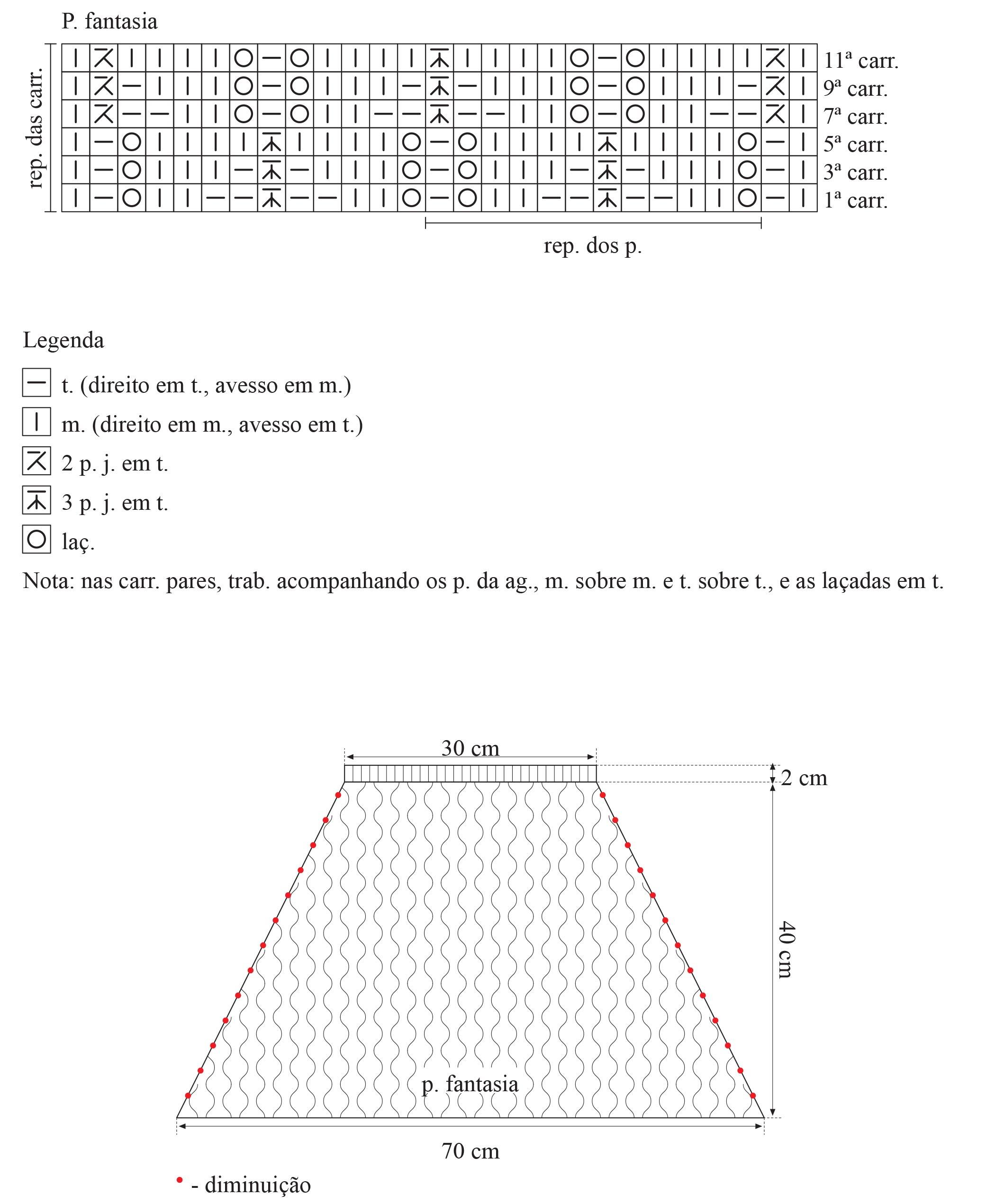 Receita-Pelerine-Marrom-Fio-Cisne-Maya-3
