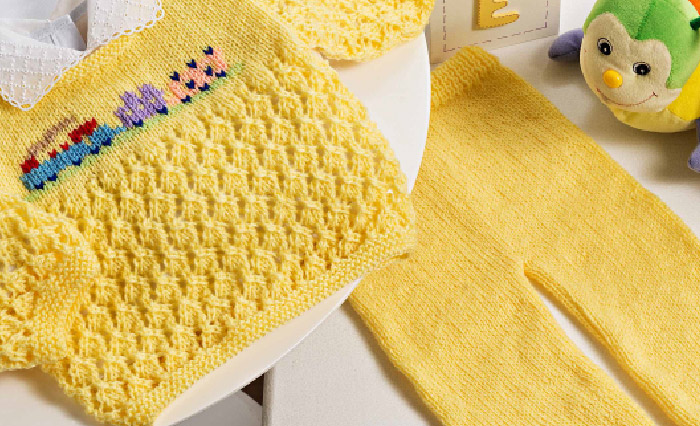 Receita-Conjunto-Bebê-Amarelo-Fio-Cisne-Bebê-Comfort