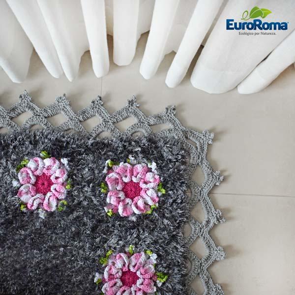 Receita-Tapete-de-crochê-Flor-Margarida-Bicuda-2