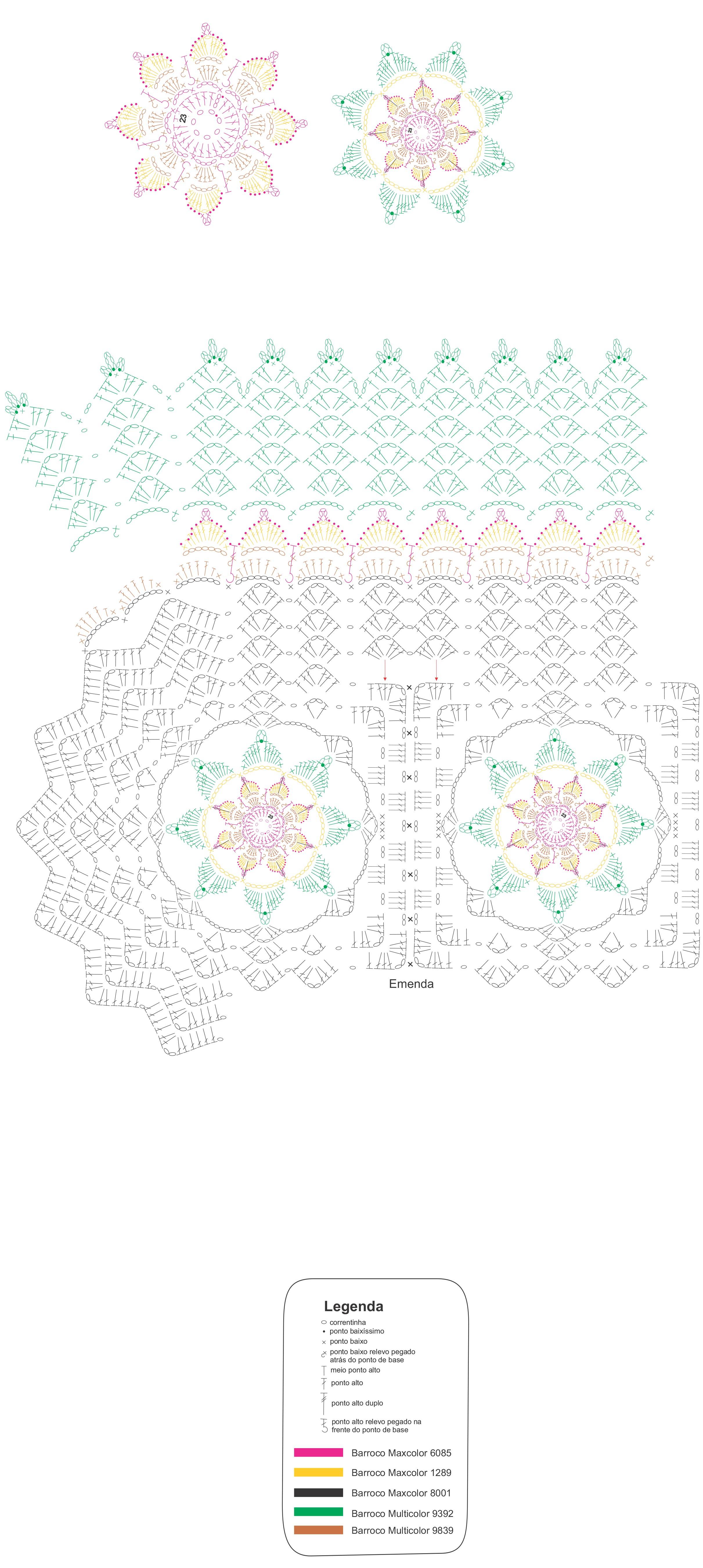 Receita-Tapete-florido-Barroco-Maxcolor-4
