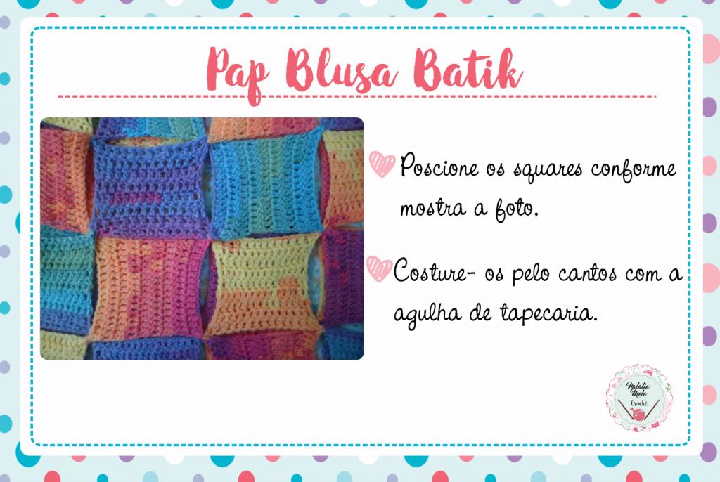 Pap Blusa Batik 7