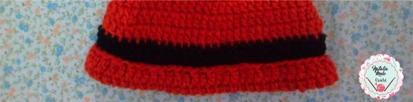 Touca de Crochê Gola Raposinha - Fio Mollet - Blog do Bazar Horizonte d757c14a27a