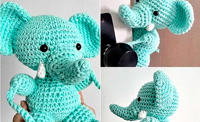 Elefante Bebé: Mejores Amigos Para Sus Hijos,Juguetes De Ganchillo ...   426x700