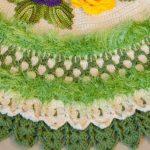 Tapete de Crochê Verdejante - Barroco Decore Luxo