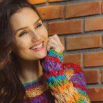Blusa de Tricô Multicolor - Fio Vip