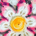 Toalha de Mesa de Crochê Flor Magia - Barroco Maxcolor