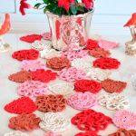 Trilho de Mesa de Crochê Amor de Mãe - EuroRoma Fiore