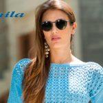 Blusa Azul de Tricô - Fio Camila Fashion