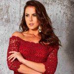 Vestido de Crochê Decote Ombro A Ombro - Linha Fashion Círculo