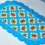 Tapete Simples de Crochê - Barroco Maxcolor