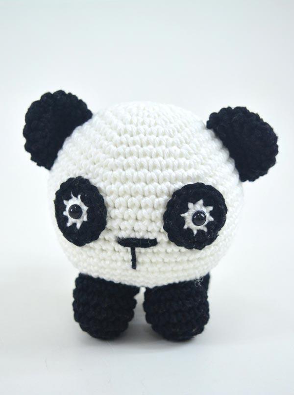Panda amigurumi – Descrição do Passo a Passo – Bonek de Crochê | 806x600