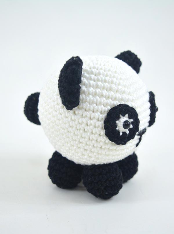 Como Fazer Panda Amigurumi de Croche - Receitas Passo a Passo Para ... | 806x600