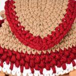 Maxi Bolsa de Crochê - Barbante Spesso