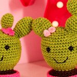 Cactos Fofos de Crochê - Linha Camila Fashion