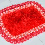 Tapete Paixão de Crochê - Barroco Decore Luxo