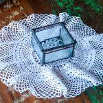 Toalhinha Branca de Crochê - Linha Cléa
