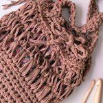 Maxi Sacola de Crochê - Fio de Malha Hoooked Zpagetti