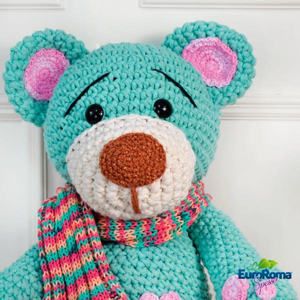 Urso Receita de Amigurumi por Little Bear Crochets | 600x600