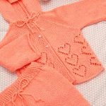 Conjunto Love Forever de Crochê - Fio Petit Bebê