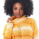 Blusa Amarela de Tricô - Fio Batik
