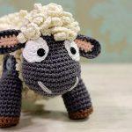 Boneco de Crochê Ovelha - Fio Bella