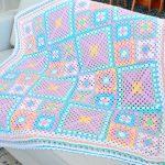 Manta Candy de Crochê - Barroco Maxcolor