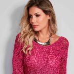 Vestido de Crochê Pink - Linha Encanto