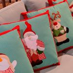 Almofadas Natal Patch Colagem - Tecido Para Patchwork