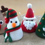 Coleção De Natal de Crochê - Fio Amigurumi