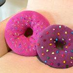 Almofadas Donuts de Crochê - Barroco Maxcolor