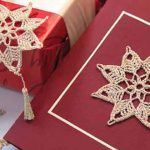 Estrela de Natal de Crochê - Linha Anchor Artiste Mercer Crochet