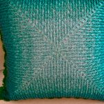 Almofada de Crochê Esperança - Fio Prisma