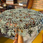 Toalha De Mesa Musgo de Crochê - Linha Charme