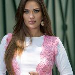 Coletão Rosa de Crochê - Linha Camila Fashion