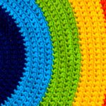 Receita Tapete Arco-Íris de Crochê com Barroco Maxcolor