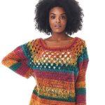 Receita Vestido Colorido de Crochê com Fio MagicPull
