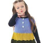 Receita Vestido de Tricô Infantil com Fio Serelepe