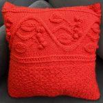 Receita Almofada Maçã do Amor com Lã Mollet