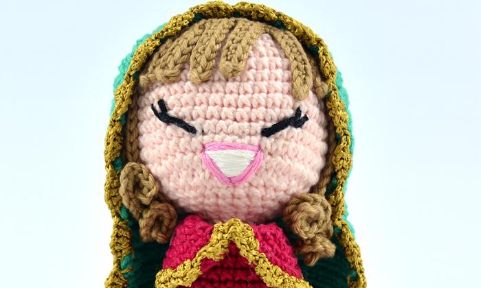 Boneca Malu amigurumi - boneca pequena, ideal para quadros ... | 420x700