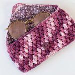 Receita Porta-Óculos de Crochê para Dia das Mães com Barbante Milano