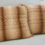 Receita Almofada com Lã Batik