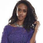 Receita Blusa Ultra Violeta com Linha Anne