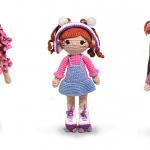 Bonecas de Amigurumi: A nova sensação do Crochê