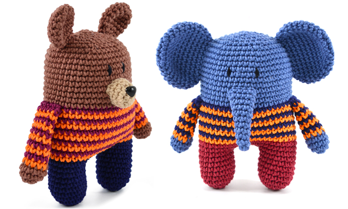 Estante do Croche: ELEFANTE AMIGURUMI | 420x700