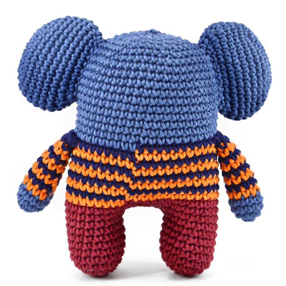 Amigurumi Elefante Pépe Em Crochê Sob Encomenda - R$ 219,99 em Mercado Livre | 916x916