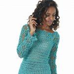 Receita Blusa Tiffany com Linha Glamour