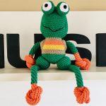Receita Amigurumi Sapo Frog com Barbante Ecosoft